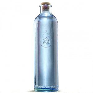 Om Wasser Flasche Dankbarkeit