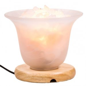 Bergkristall Himalaya-Salzkristall-Lampe (19 cm)