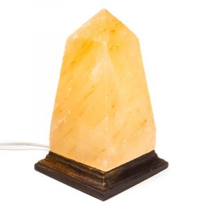 Salzkristall-Lampe Obelisk