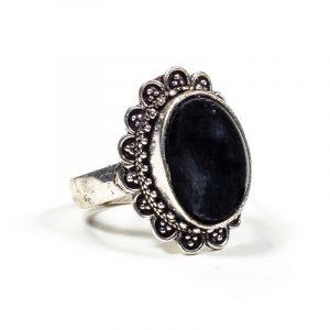 Ring mit schwarzem Turmalin