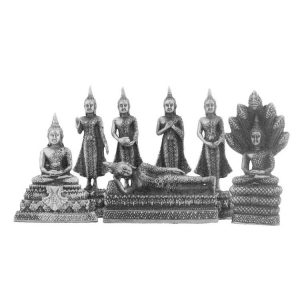 Statuetten Geburtstags Buddha (7er-Set)