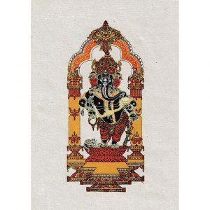 Ganesh Karte ( 4er Satz)
