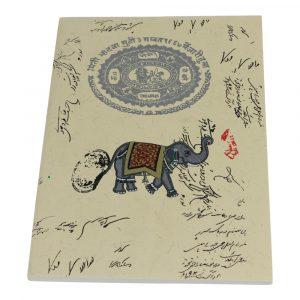 Notizbuch Softcover Elefant Groß