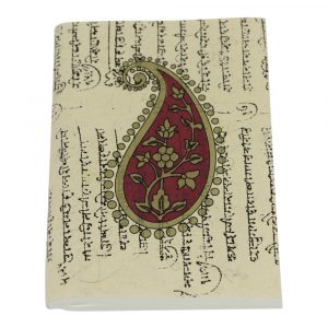 Notizbuch Softcover Paisley Medium