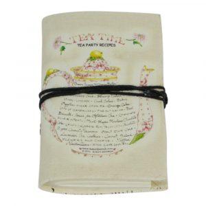 Notizbuch Teekanne Weiß Klein