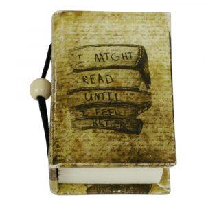 "Notizbuch Hardcover ""I Might Read …."" (Small)"