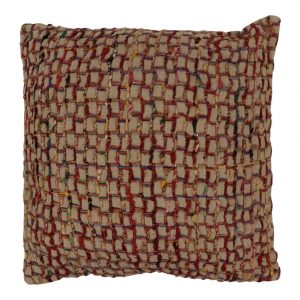 Zierkissen aus Baumwolle Laos Mehrfarbig (mit Füllung)
