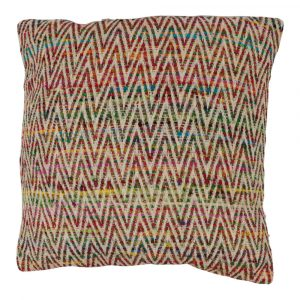 Zierkissen aus Baumwolle Ibiza Mehrfarbig (mit Füllung)