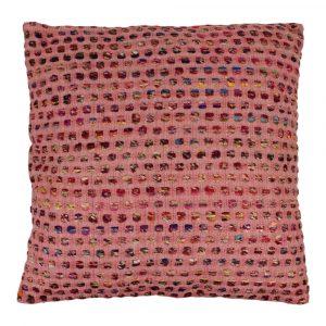 Zierkissen aus Baumwolle Dots Rot XL (mit Füllung)