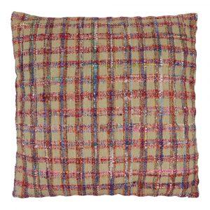 Zierkissen aus Baumwolle Panama Mehrfarbig XL (mit Füllung)