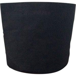 Korb aus Jute (Schwarz- 35 x 35 cm)
