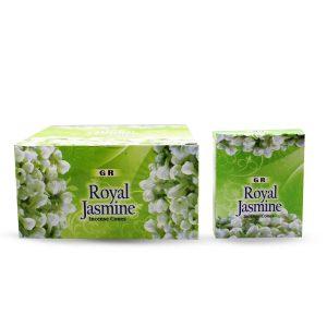 GR Räucherkegel Royal Jasmine (12 Packungen mit 10 Kegel)