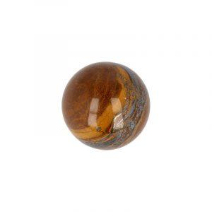 Edelstein Kugel aus Tigerauge