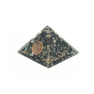 Orgon Pyramide - Chrysokoll Blume des Lebens Groß