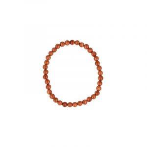 Goldfluss Perlen Armband für Kinder (4 mm )