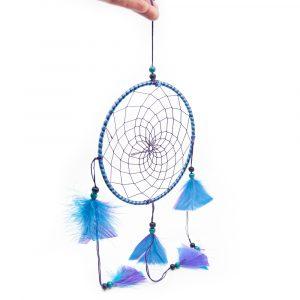 Traumfänger Mandala Violett Blau - 45 cm