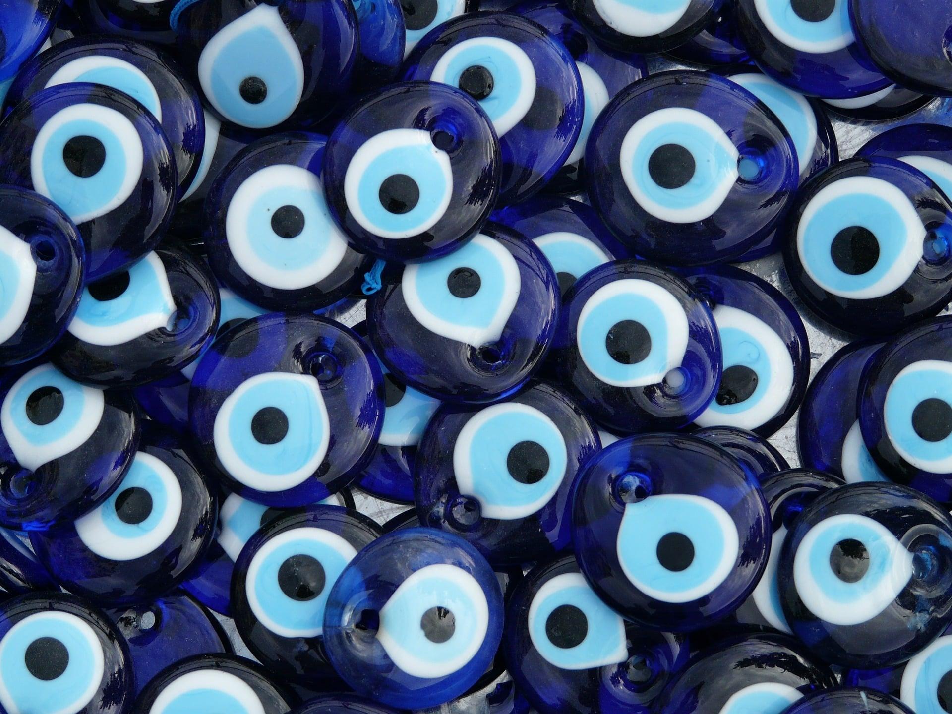 nazar boncuğu nazar boncuk blauer Nazar Auge der Fatima