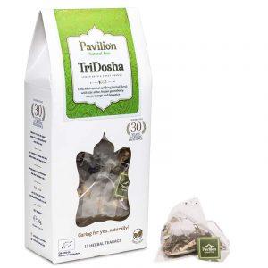 Ayurvedischer Kräutertee TriDosha Schachtel BIO - Biologisch, Koffeinfrei und Vegan