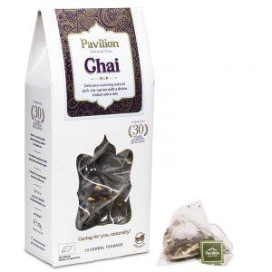 Ayurvedischer Darjeeling Chai Tee Schachtel BIO - Biologisch, Koffeinfrei und Vegan
