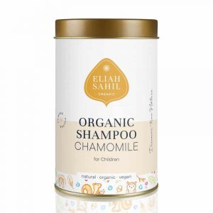 Vegan Pulver-Shampoo Kamille für Kinder BIO Eliah Sahil