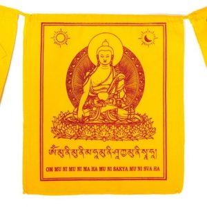 Tibetische Gebetsfahnen Shakyamuni Buddha