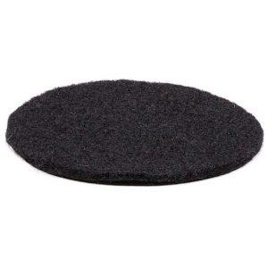 Kissen für Klangschale aus Filz schwarz (10 cm)
