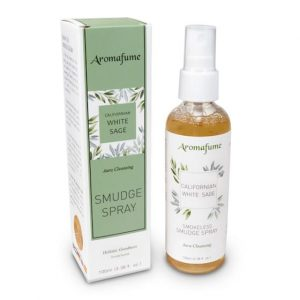 Aromafume Natürliches Smudge Spray Weißer Salbei