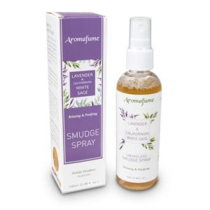 Aromafume Natürliches Smudge-Spray Weißer Salbei und Lavendel
