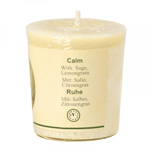 Chill-out Duftkerze Calm (Ruhe) Stearin