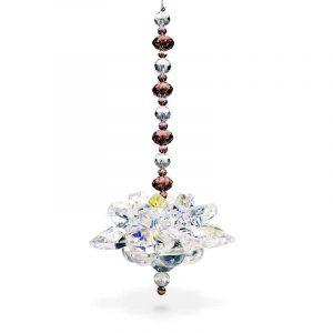 Feng Shui Dekoration Kristall Lotus