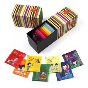 Or Tea? Regenbogen Geschenkverpackung