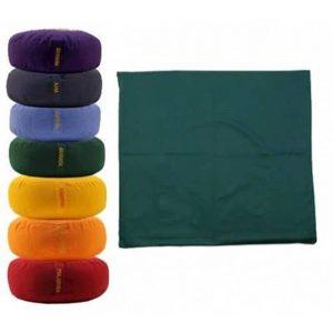 Meditationsmattenhülle - grün 4. Chakra