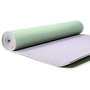 Yogi & Yogini PVC Yogamatte Deluxe grün (183 x 60 x 0,6 cm)