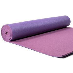 Yogi & Yogini PVC Yogamatte Deluxe lila (183 x 60 x 0,6 cm)