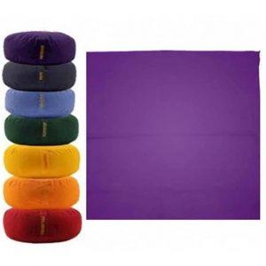 Meditationsmattenhülle violett 7. Chakra Sahasrara