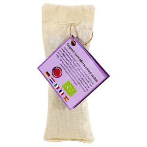 Lavendel-Duftsäckchen biologisch beige