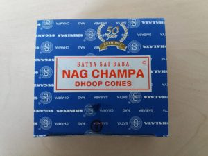 Nag Champa Weihrauchkegel (12 Kartons)