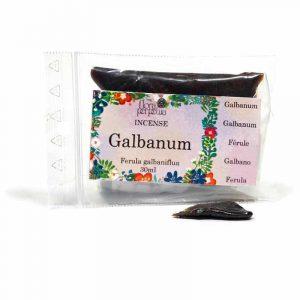 Weihrauchharz Mischung Galbanum (Packung Plastiksäckchen)