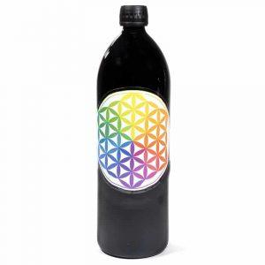 Trinkflasche Miron violett, Dekoration vielfarbig