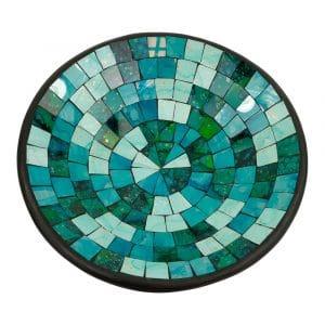 Schale Mosaik Blau Mix (38 cm)