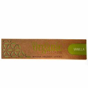 Räucherstäbchen Organic Masala Goodness Vanille