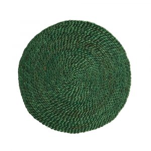 Tischset aus Jute - Dunkelgrün (35 cm)