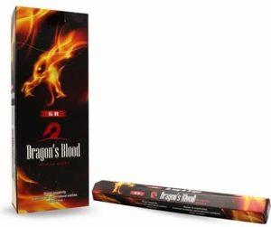 GR Garten Raucherstäbchen Dragonblood (6 Packungen mit 10 Stäbchen)