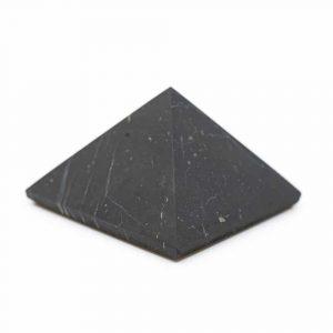 Pyramide ungeschliffener Shungit - 60 mm