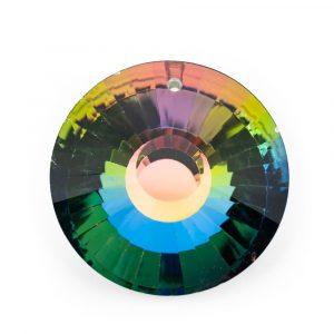 Regenbogenkristall Kreis mehrfarbig (45 mm)