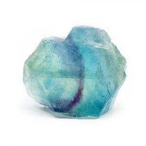 Edelstein Roher Blauer Fluorit