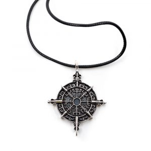 Amulett Wikinger Runenkompass