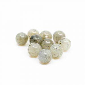 Edelstein Lose Perlen Spektrolith - 10 Stück (6 mm)