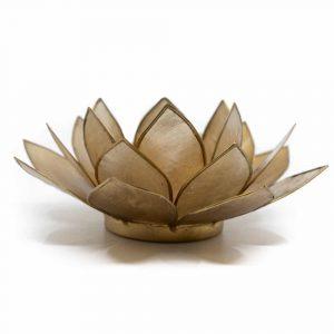 Lotus Atmosphärisches Licht smoked Goldrand