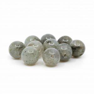 Edelstein Lose Perlen Spektrolith - 10 Stück (8 mm)